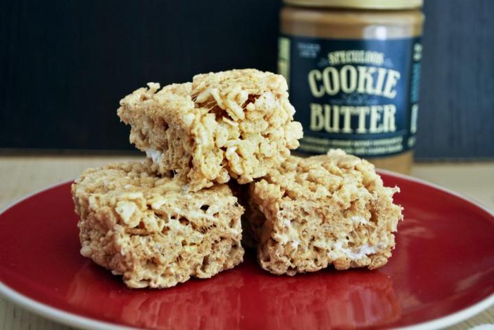 Cookie Butter squares