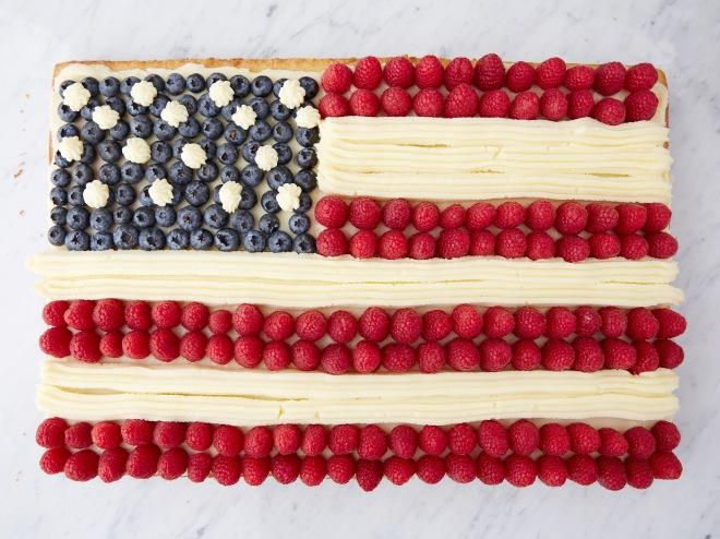 USA fruit cake